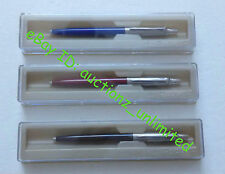 Parker Jotter Standard CT Set of 3 Pens Ball Pens 1 Black 1 Red 1 Blue Free Ship