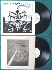 Skullflower XAMAN + Total CLEAR FACTORY noise MATTHEW BOWER heavy psych 2 LP LOT
