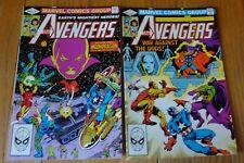 AVENGERS #219,220 DRAX MOONDRAGON  NM 9.4