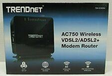 TRENDnet TEW-816DRM AC750 Wireless VDSL2/ADSL2+ Modem Router