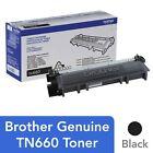Brother Genuine TN660 High Yield Toner Cartridge TN-660 - Black - Free Shipping