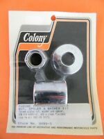 Colony Chrome Front Axle Nut & Spacer Kit 1997-99 Harley FXSTS     9999-3