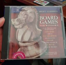 Swift Classics - Board Games for Windows -  PC GAME  - FREE POST *