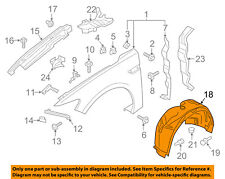 Lincoln FORD OEM 17-18 Continental-Fender Liner Right GD9Z16102A