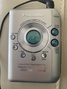 PANASONIC RQ-SX75V STEREO RADIO CASSETTE PLAYER WALKMAN CASSETTE NOT WORKING?