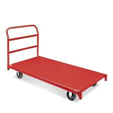 warehouse platform cart with 2200 lb ( 1000 kg)  capacity removable handle bar