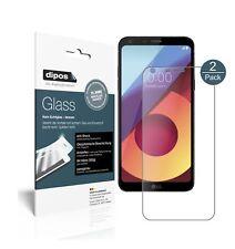 2x LG Q6+ Protector de Pantalla Vidrio Flexible Mate Proteccion 9H dipos