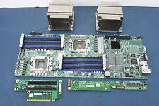 SuperMicro X8DTT-HF+-AM041 Rev 2.0 Server Motherboard + Extras