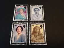 GB THEMATIC ROYALTY 2002 QUEEN ELIZABETH THE QUEEN MOTHER FULL SET VFU