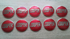rover mini cooper john cooper red enamel badge s works mpi si sport 500 1275 x10