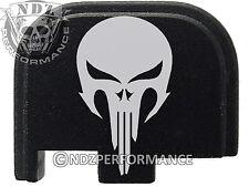 for Glock 42 ONLY Rear Slide Cover Plate .380 Cal G42 Black NDZ Skull 2