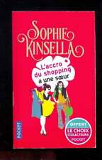 Sophie KINSELLA L'accro du shopping a une soeur, Pocket 2016 hors commerce, neuf
