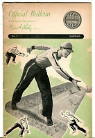 Vintage Keds Sports Department Official Bulletin By Frank Leahy Softball jhcc