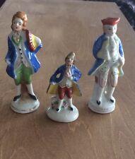 Vintage Occupied Japan Set Of 3 Figures Figurines