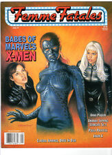 WoW! Femme Fatales V9#2 Babes Of Marvel's X-Men! Anna Paquin! Paula Prentiss!