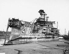 "USS Idaho US Navy Cramp Shipyard Philadelphia USA 1906, 5x4"" Reprint"