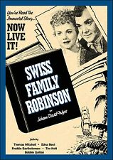 SWISS FAMILY ROBINSON - DVD -Thomas Mitchell, Edna Best - RARE 1940 VERSION