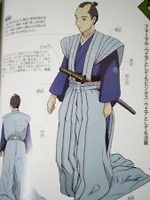 FREE SHIPPING!! Samurai Sword Tsuba hairstyle Costume Antique life Blade Book