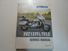 1999 Yamaha XVZ13TFL/TFLC Service Repair Manual FACTORY OEM BOOK 99 WORN