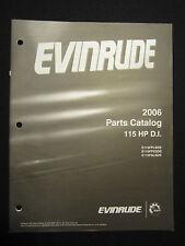 2006 Evinrude Outboard Parts Catalog Manual 115 HP DI FACTORY