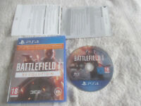 Battlefield 1 Revolution / PS4 / Sony Playstation 4