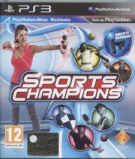 SPORTS CHAMPIONS - PS3 NUOVO E SIGILLATO, EDIZIONE ITALIANA, NO IMPORT
