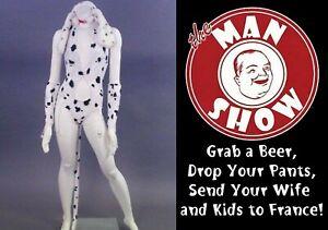 The Man Show: Custom Trashy Lingerie Costume Dalmation Dog Juggy Wardrobe COA