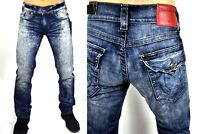True Religion $259 Men's Ricky Capetown Straight Jeans - M859NAAQ