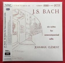 Jean-Max Clement-J.S. Bach . Six Suites for Unaccompanied Cello 2 LP SET NEW