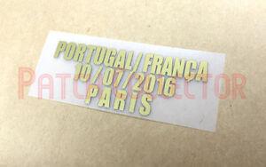 UXXA EURO Final 2016 Portugal VS France Match Details