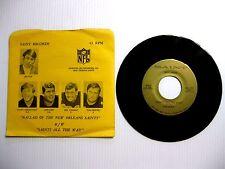 1971 NFL NEW ORLEANS SAINTS 45 RPM RECORD SLEEVE KUPP DEL WILLIAMS TOM DEMPSEY