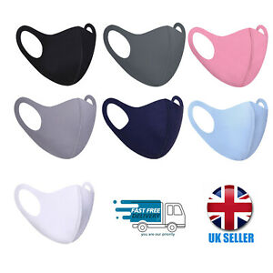Reusable Face Mask Covering Washable Breathable Dust TFL Hospital Visitor
