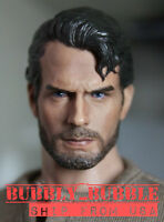 1/6 Henry Cavill Head Sculpt 3.0 Superman Clark Kent For Hot Toys PHICEN Figure