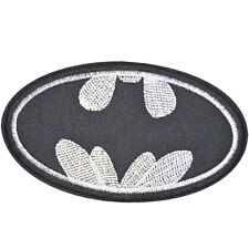 "Batman Logo DC Comics Embroidered Iron Sew On Patch Appliques 3.7""X2.1"""