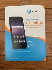 "Brand New Sealed At&t Go Phone ALCATEL Ideal 8GB 4.5"" Prepaid Smartphone"