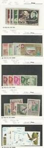Laos, Postage Stamp, #18-22, 48-55 Hinged, 56-59, 373-8 Mint NH, JFZ