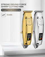 Professional Cordless Hair Clipper Trimmer Electric Trimmer with LCD dig display