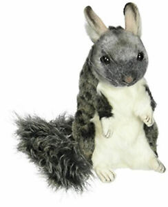 "NEW with Tag - Chinchilla Chauncey Plush Stuffed Animal 9"" by Hansa Toys 5978"