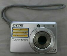 Sony Cyber-shot DSC-S730 7.2 MP Digital Camera - Silver - Free Shipping!