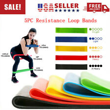 Workout Resistance Loop Bands Pull Up Gym Fitness Yoga Exercise Band CrossFit