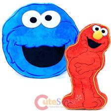 Sesame Street Elmo Cookie Monster 2pc Decorative Pillow Cushion Set