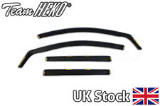 HEKO TINTED wind deflectors 4 pieces VW Golf mk7 5 doors estate 2013-2019