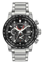 Citizen AT9071-58E Men's Stainless Steel Perpetual Calender World Time A-T Watch