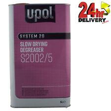U-Pol System 20 Slow Panel Wipe & Degreaser 5L Panelwipe Upol