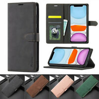 For iPhone 12 Mini 11 Pro Max XR SE 8 7 6S+ Flip Leather Wallet Stand Case Cover
