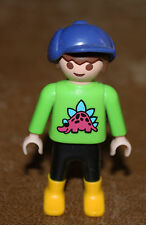 Playmobil personnage enfant garçon polo dinosaure city life ref hh