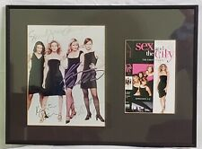 Sex and the City Autograph Collection (framed)