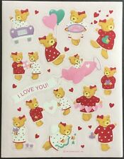 VALENTINE/'S DAY BEST FRIENDS FOREVER ONE SHEET STICKERS #BBF9