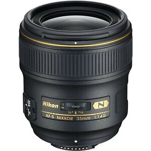 NEW! Nikon AF-S NIKKOR 35mm f/1.4G Lens: 2198