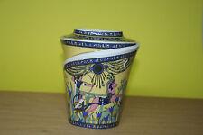 Vase rund 18 cm Pâte et émail Limoges Sculpture Fathi Mahmoud